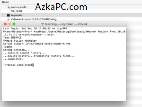 VMware Fusion Pro 12.1.2 Crack With License Key {Apple M1 + Big Sur}