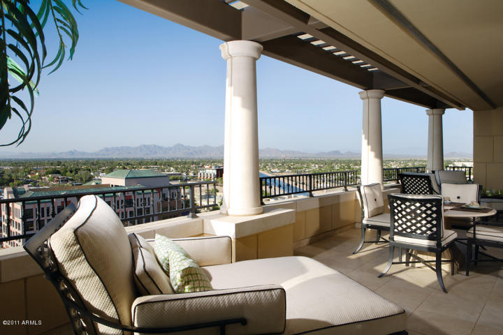Most Expensive Penthouse Condos on the Market in The Valley of the     Subdivision  Scottsdale Waterfront Residences