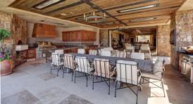 Full OutDoor Kitchen - Home Price $24,000,000