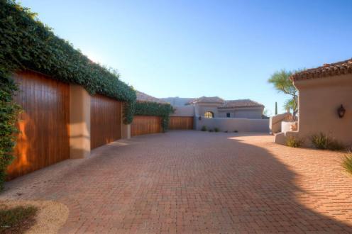 World class Scottsdale Estate on 20 Acres & 35+ car auto show garage 20