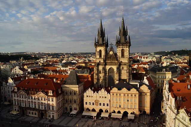 Центъра на Прага