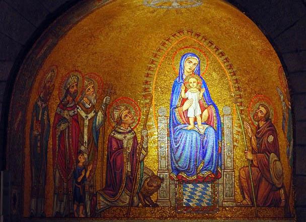 Mosaic in Jerusalem