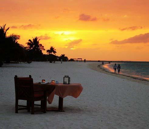 Залез на Малдивите