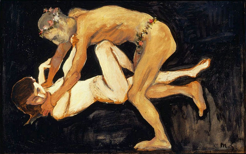 "IMAGEM: ""Faun and a Girl"", de Max Slevogt"