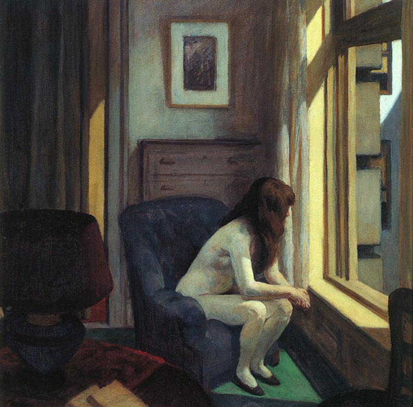 "IMAGEM: ""Eleven AM"", de Edward Hopper"