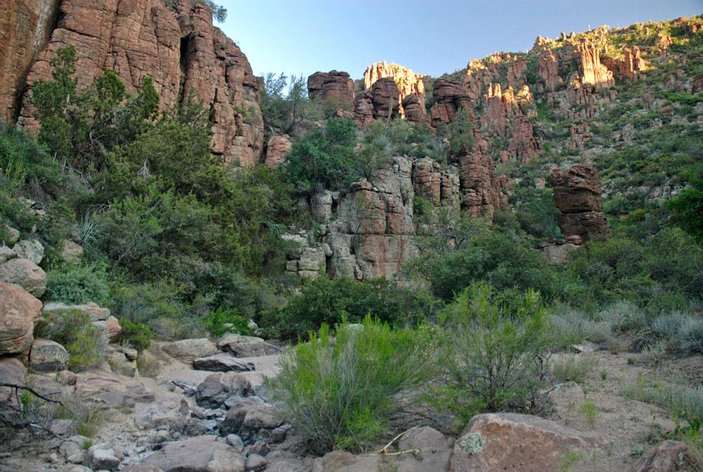 devils canyon rancho rio creek 0