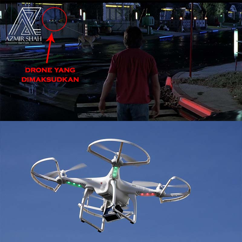 drone, drone back to the future