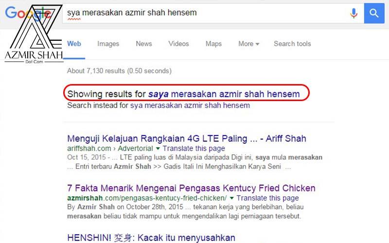 google spell checking
