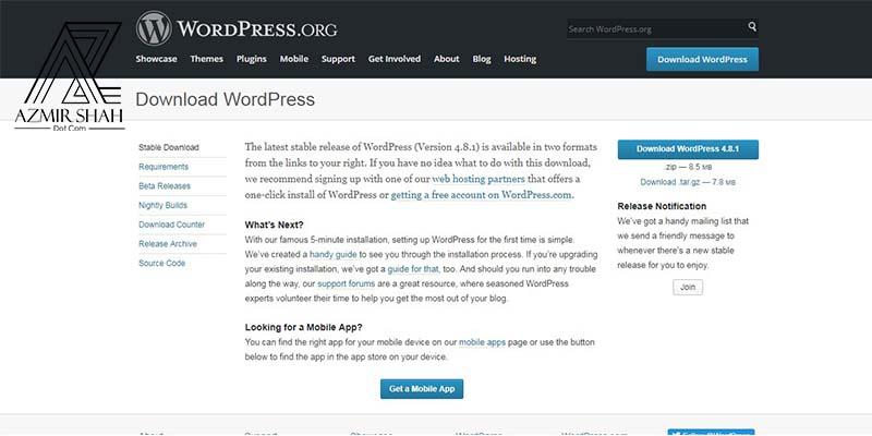 wordpress website, wordpress official, official website, wordpress.org, laman web wordpress