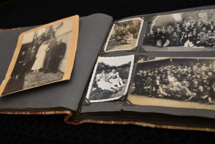 A photo album - a must item during your relocation for seniors.