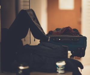 Luggage and luggage.