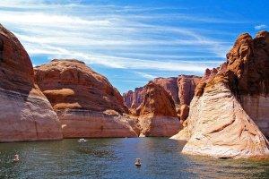 Lake in AZ.