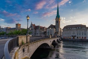 Zurich, one of the top cities for IT professionals.