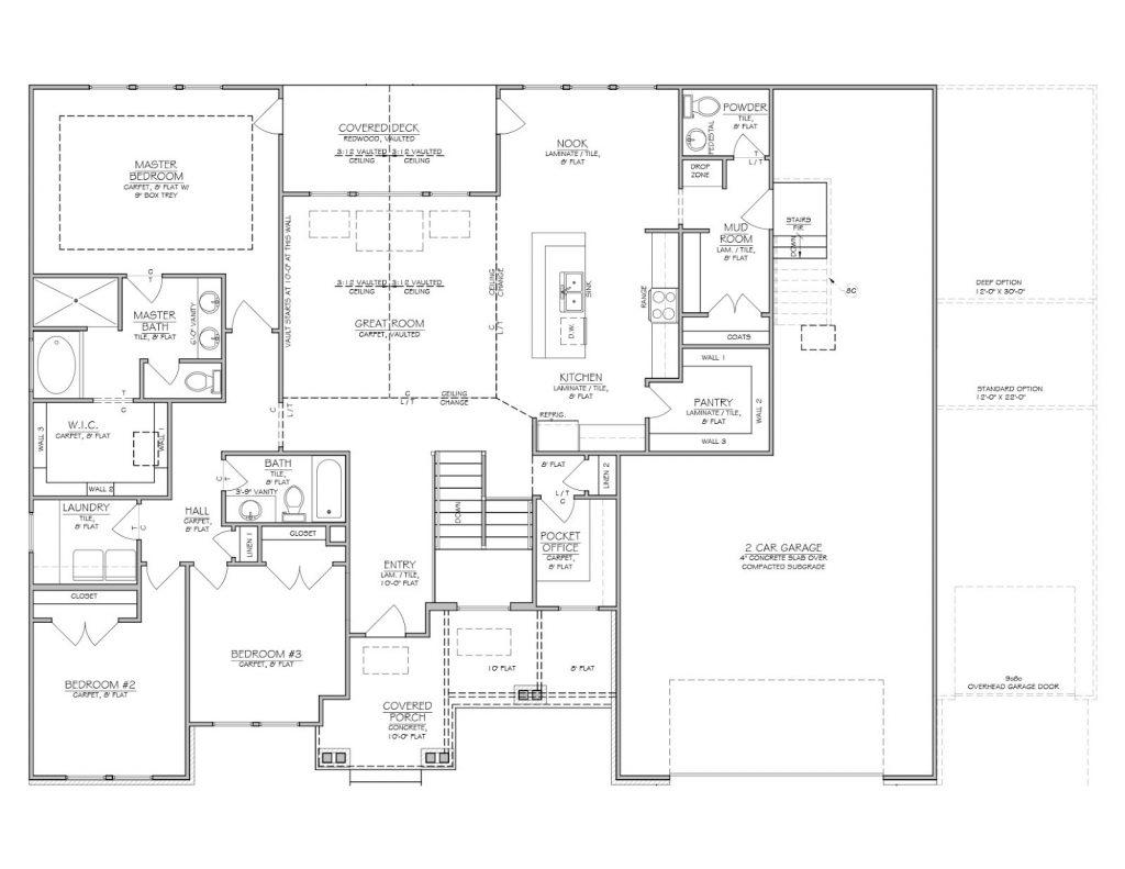 Beautiful Utah Home Builders Floor Plans