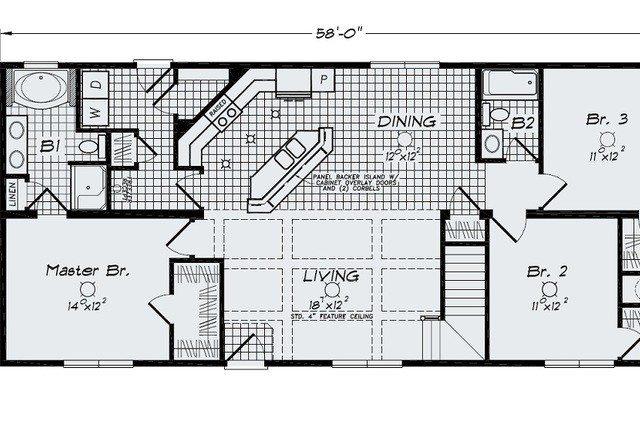 Cool Open Floor Plans Ranch Homes