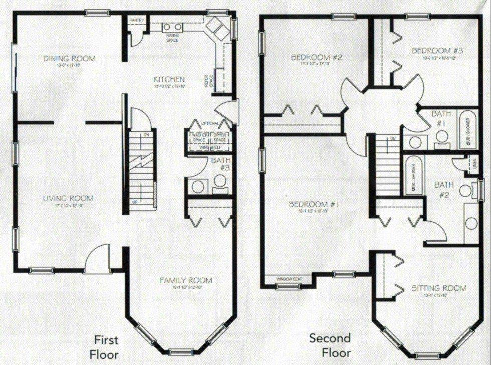 Inspirational 2 Story 4 Bedroom 3 Bath House Plans