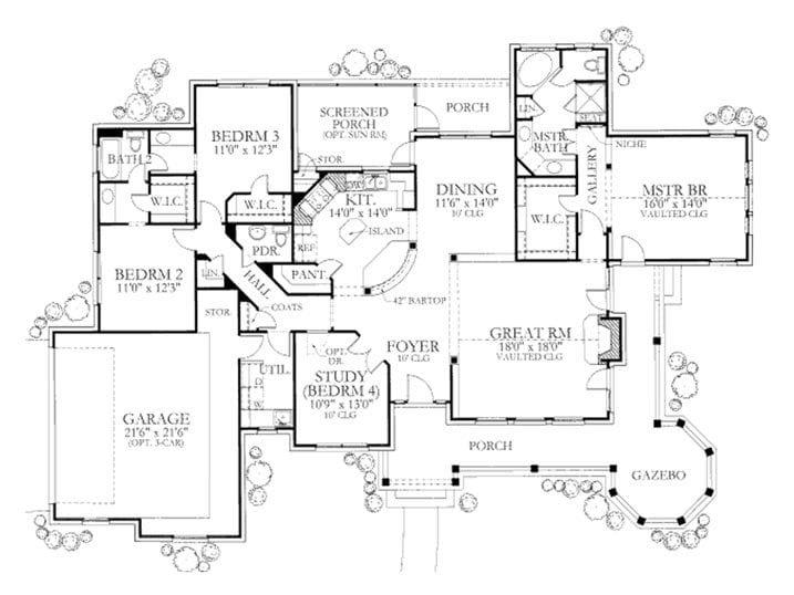 Elegant 5 Bedroom House Plans With Wrap Around Porch