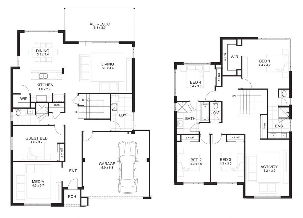 6 Bedroom Double Storey House Plans Luxury 6 Bedroom House
