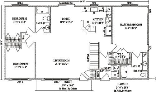 Open Concept Ranch Style House Plans Best Of Ranch Floor