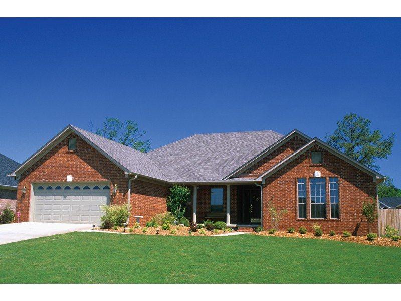 Amazing Brick Ranch House Plans