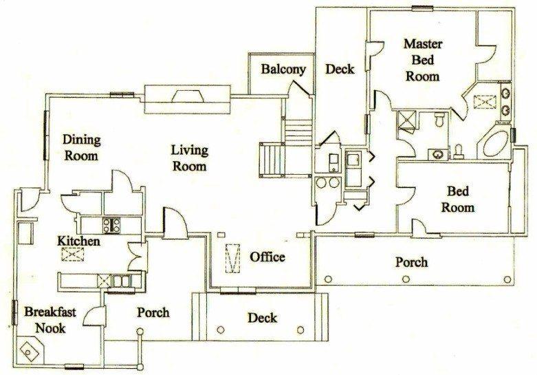 Ponderosa Ranch House Floor Plan Unique Bonanza S