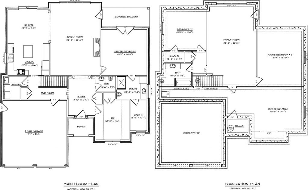 Luxury House Plans Single Story With Basement
