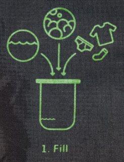 lavare vestiti in viaggio viaggiare lavare indumenti sacca borsa lavatrice viaggio scrubba washbag wash bag travel trip advice tip www.scrubba.com zazzu azonzoconzazzu Gianluca Stefanelli