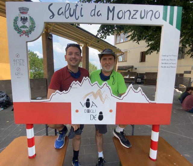 Monzuno Via Degli Dei Trekking CAI Appennino Camminare Cammino Sentiero Italia Cammino Bologna Firenze A Zonzo Con Zazzu Gianluca Stefanelli San Luca Portici