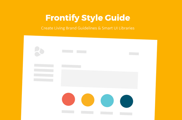 Frontify – Create Beautiful and Complete Style Guides