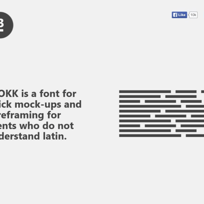 Ideal Fonts for Prototypes, Wireframes and Mock-ups