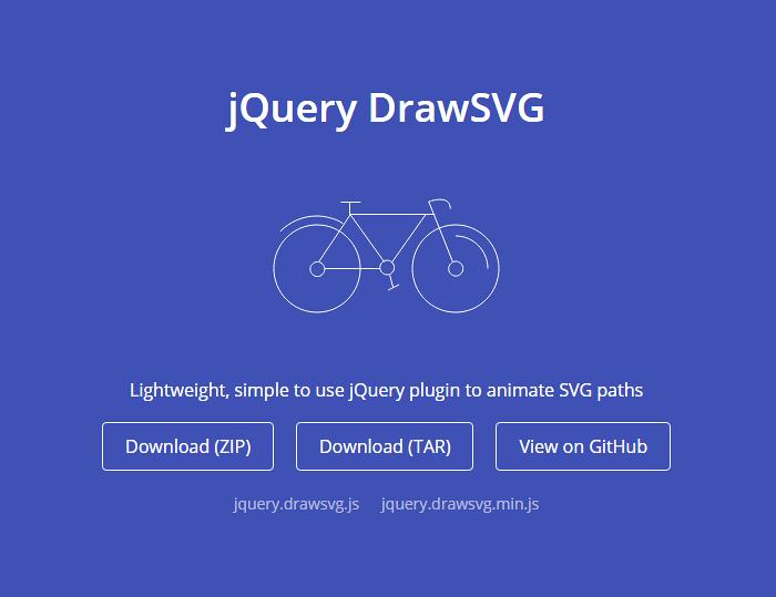 Simple jQuery Plugin to Animate SVG Paths