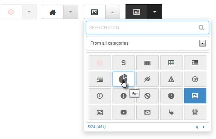Elegant Font Icon Picker jQuery Plugin