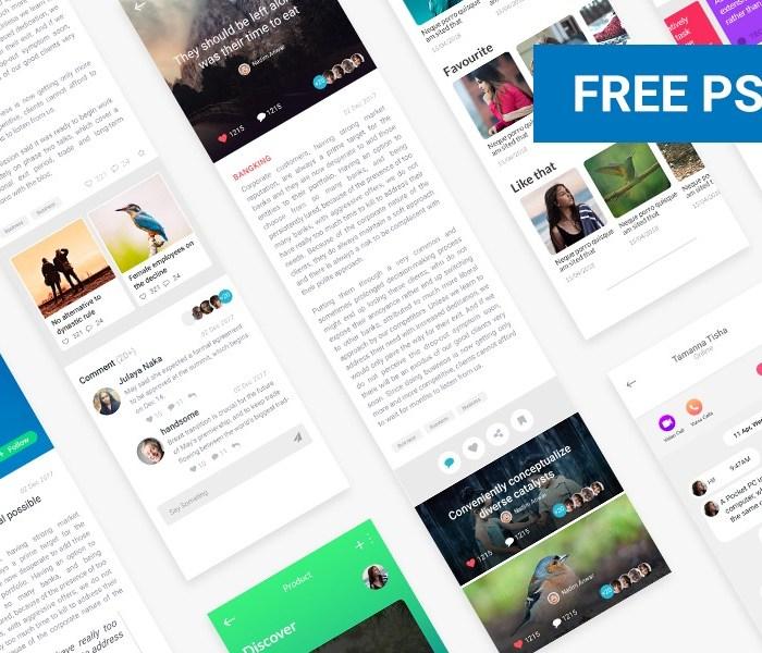 News Feed UI Design