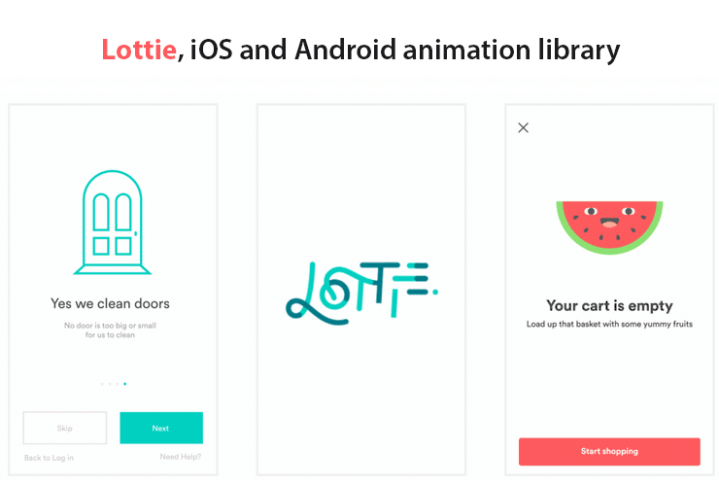 Lottie: Convert Adobe After Effects Animations to iOS and Android
