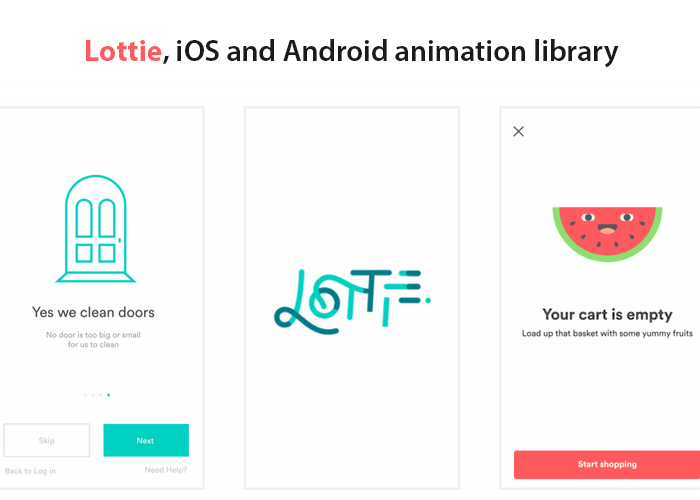 Lottie: Convert Adobe After Effects Animations to iOS and Android Mobile Apps