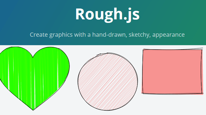 Rough.js: Create Hand-drawn Graphics with JS