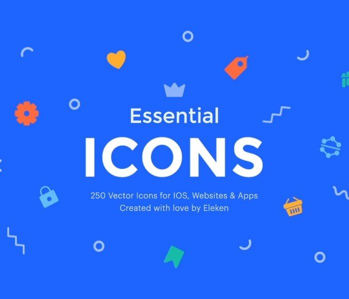 250+ Free Essential Vector Icons