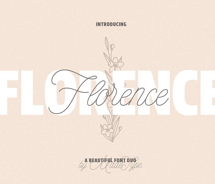 MADE Florence Font Duo