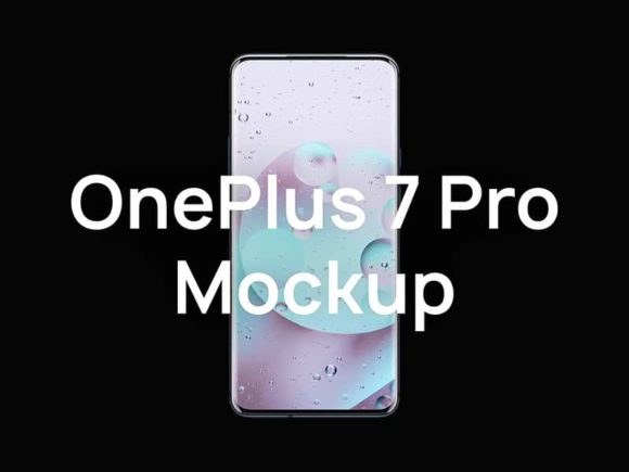 OnePlus 7 Pro Mock-Ups Collection for Sketch