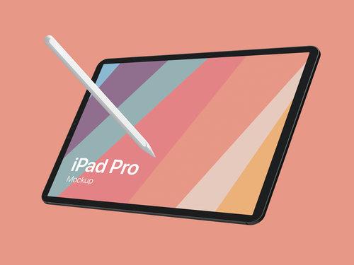 iPad Pro Design Mockup for Adobe Photoshop