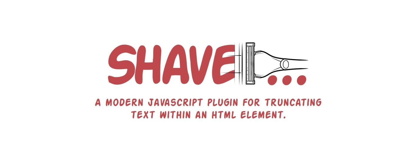 Shave: Multiline Text Truncate Plugin for JavaScript