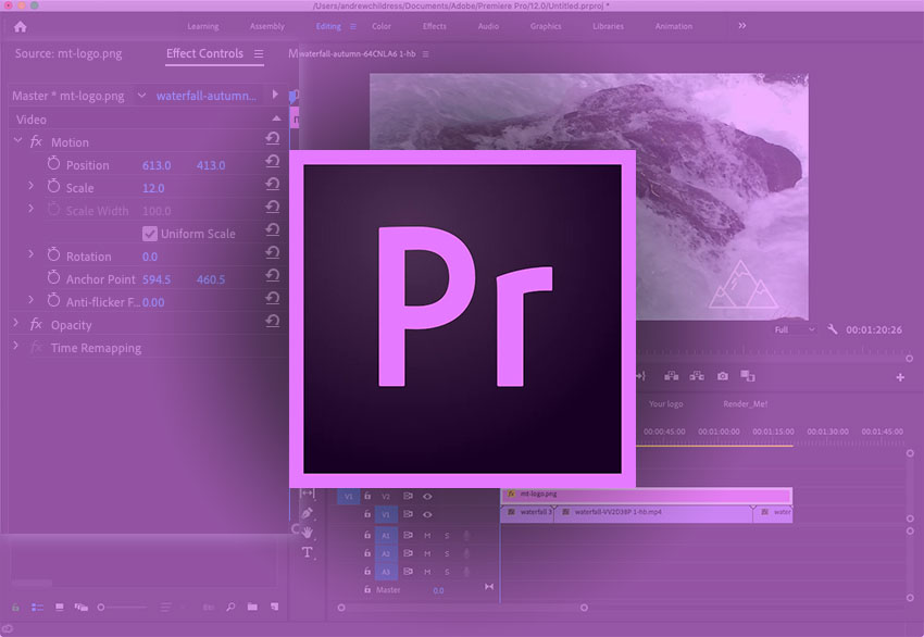 Tutorial: Adding a Logo to Video in Adobe Premiere Pro