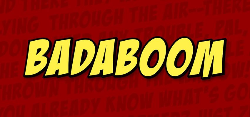 21 Fantastic Fonts for Comic Books & Cartoons