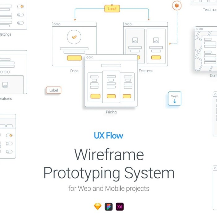 Free UX Flow Library