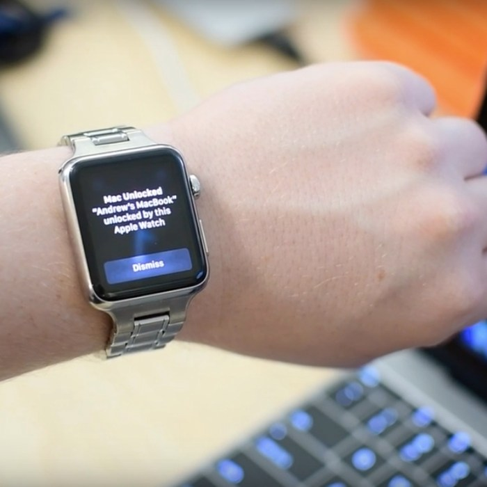 Unlock Your Mac with Apple Watch