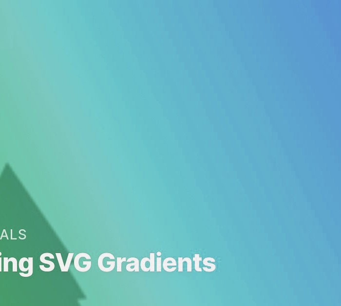 Tutorial: Animating SVG Gradients