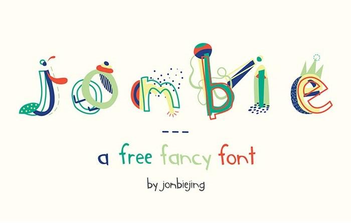 Jombie: Free Fancy Font
