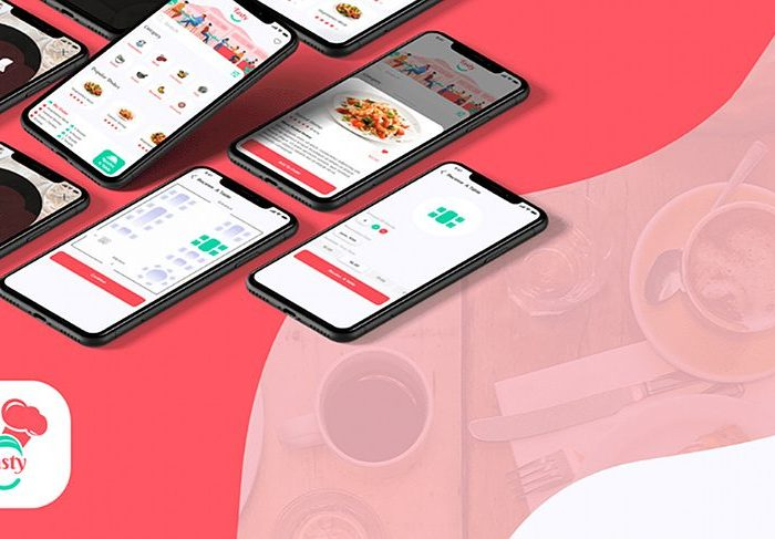 Restaurant Booking App: Free Template for Adobe XD