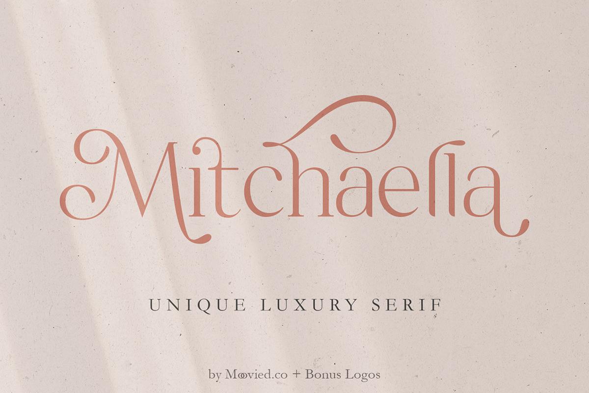 Mitchaella: A Luxury Serif Font