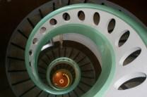 Treppenhaus von oben; Foto: Theresa Mory